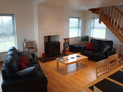 Open Plan Living Area at 8 Gables Self Catering Accommodation, Sligo, Ireland