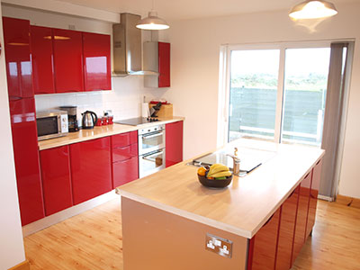Kitchen at 8 Gables Self Catering Accommodation, Sligo, Ireland