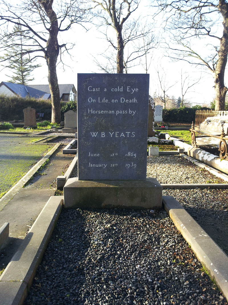 W.B. Yeats Grave, Drumcliff, Sligo