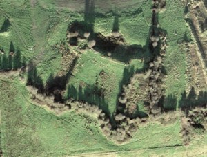 Aerial Photograph of Sligo Green Fort