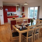 Open plan kitchen/dining area - 8 Gables Self Catering Accommodation, Sligo