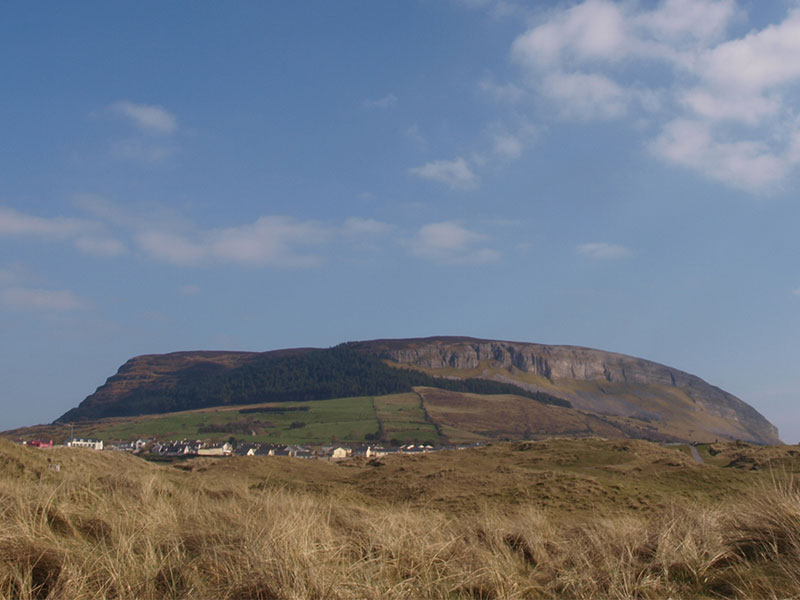 Knocknarae Mountain, home of Queen Maeve's Cairn