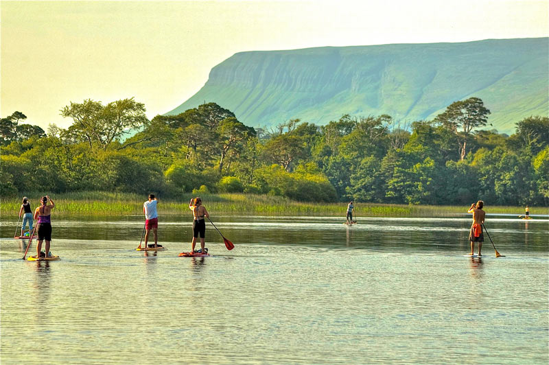 Stand Up Paddling, Sligo